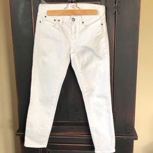 J Crew Factory White Jean